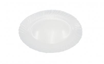 Set 3 platouri,opal,alb,30 cm