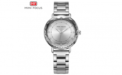Ceas dama Mini focus first lady silver