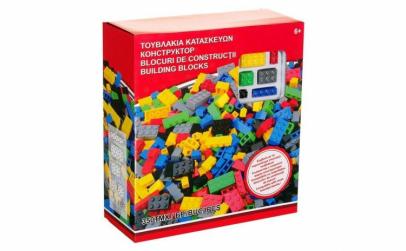 Set de constructie lego cu 350 piese