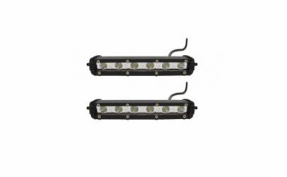 Set 2 proiectoare auto LED, 18 W