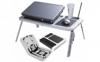 Masa E-table pentru laptop cu cooler