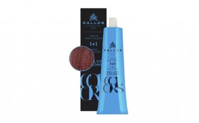 Vopsea de păr cremă Kallos Colors 7V