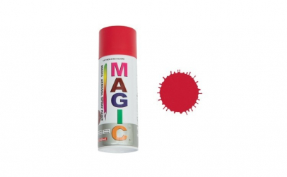 Vopsea spray magic rosu 250 400 ml