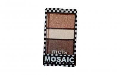 Fard pleoape Meis Mosaic 3 culori No.03