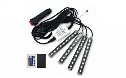 Kit benzi LED, lumina ambientala auto