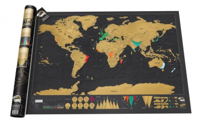 Harta razuibila DELUXE - Cadoul perfect