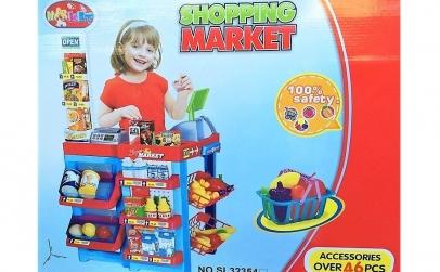 Supermarket copii + 46 accesorii