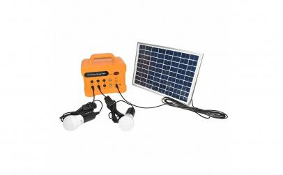 Sistem panou solar cu radio