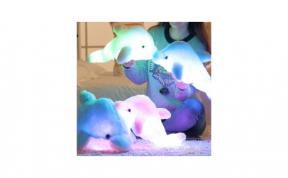 Delfin cu lumina led