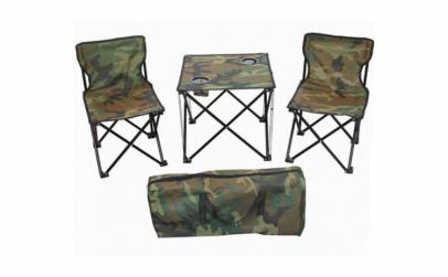 Set masa si scaune pentru camping