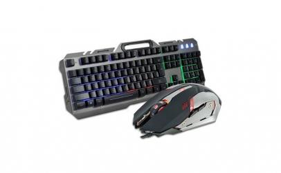 Kit tastatura si mouse gaming, Rebeltec