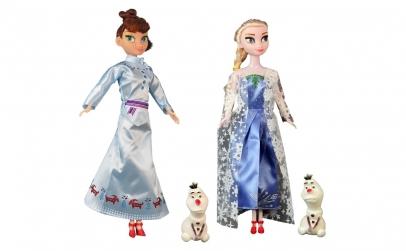 "Set papusi ""Anna, Elsa si Olaf"""
