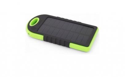 Baterie externa solara, 5000 mAh
