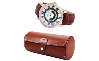 Pachet cutie caseta depozitare si ceas