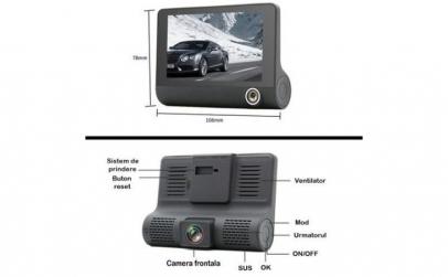 Camera Auto FULL-HD Tripla