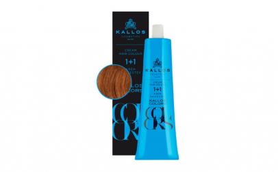 Vopsea de păr cremă Kallos Colors 8R