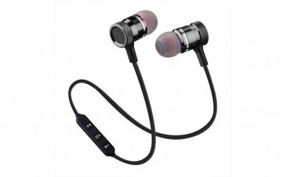 Casti Wireless Bluetooth Magnetice