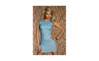 Rochie Stylish Skintight Denim Light