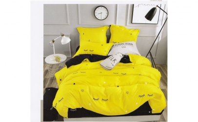 Lenjerie pentru pat dublu, din Bumbac