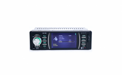 Radio Mp5 Player Big Shot, 3615B, 1DIN