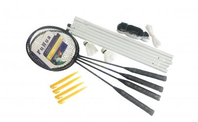 Set badminton cu fileu