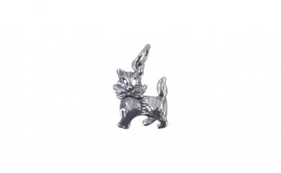 Pandantiv Argint 925, Pisica cu Fundita