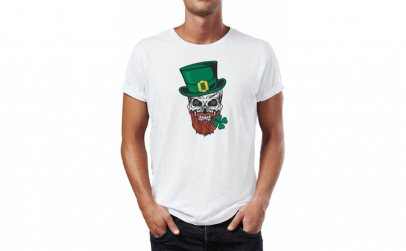 Tricou barbati St. Patrick, Bumbac