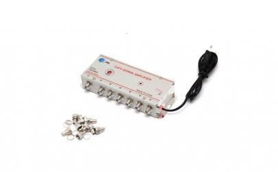 Amplificator de semnal TV cu 6 iesiri -