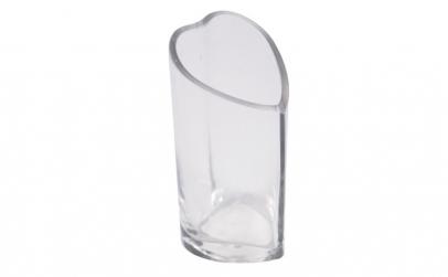 Vaza decorativa din sticla, suport nisip