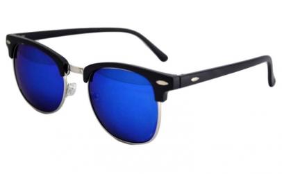 Ochelari de soare Retro Albastru inchis