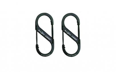 Carabina S-Biner Otel suporta max 4,5kg