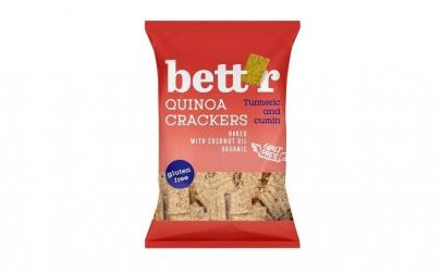 Crackers cu quinoa si turmeric fara