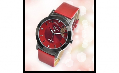 Ceas dama Prema Casual Red
