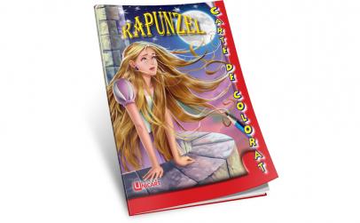 Carte colorat Rapunzel