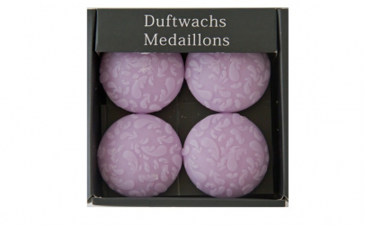 Set de 8 medalioane din ceara parfumata