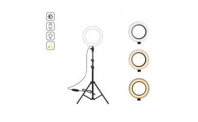 Lampa circulara Ring Light, diametru 15c
