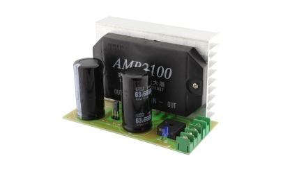 Amplificator audio 2 x 100W