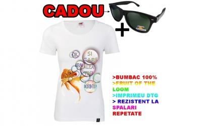 Tricou PESTISORUL DE AUR+ ochelari