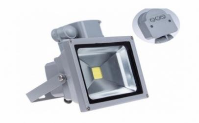 Proiector LED 20w cu senzor miscare