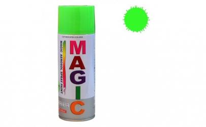 Vopsea spray magic verde fluorescent