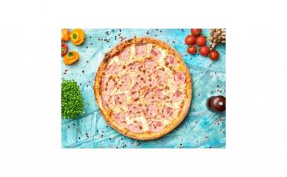 Pizza Con Prosciutto 30 cm (Cuptor cu