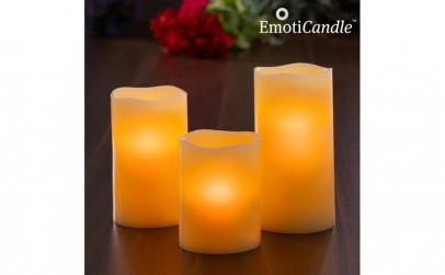 Lumânări LED Blow Sensor EmotiCandle