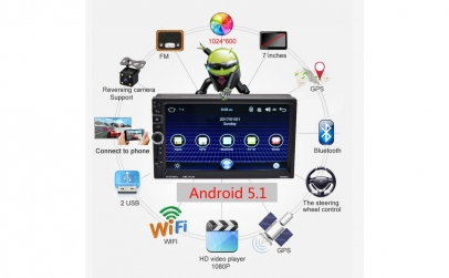 MP5 Player Auto- Android, GPS,16GB