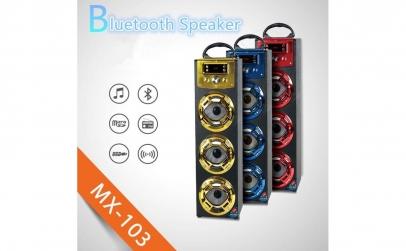 Boxa portabila cu Bluetooth si microfon