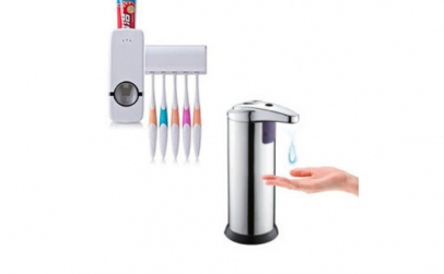 Dispenser sapun cu senzor + dozator