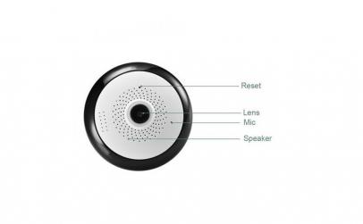 Camera supraveghere IP panoramica