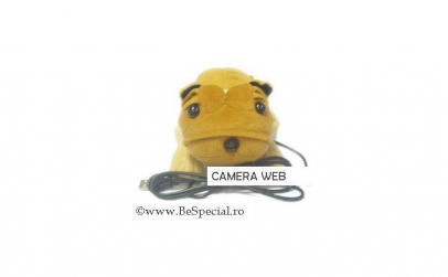 Camera web USB in forma de catelus