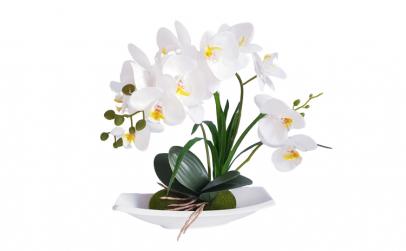 Aranjament orhidee artificiala