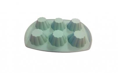 Forma din silicon pentru savarine, 6