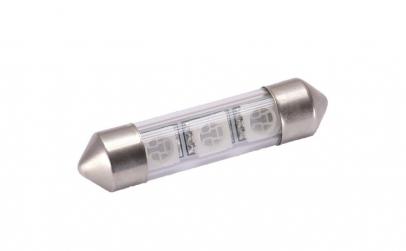 Bec LED SOFIT 42MM 3 SMD 5050 12V ALBA